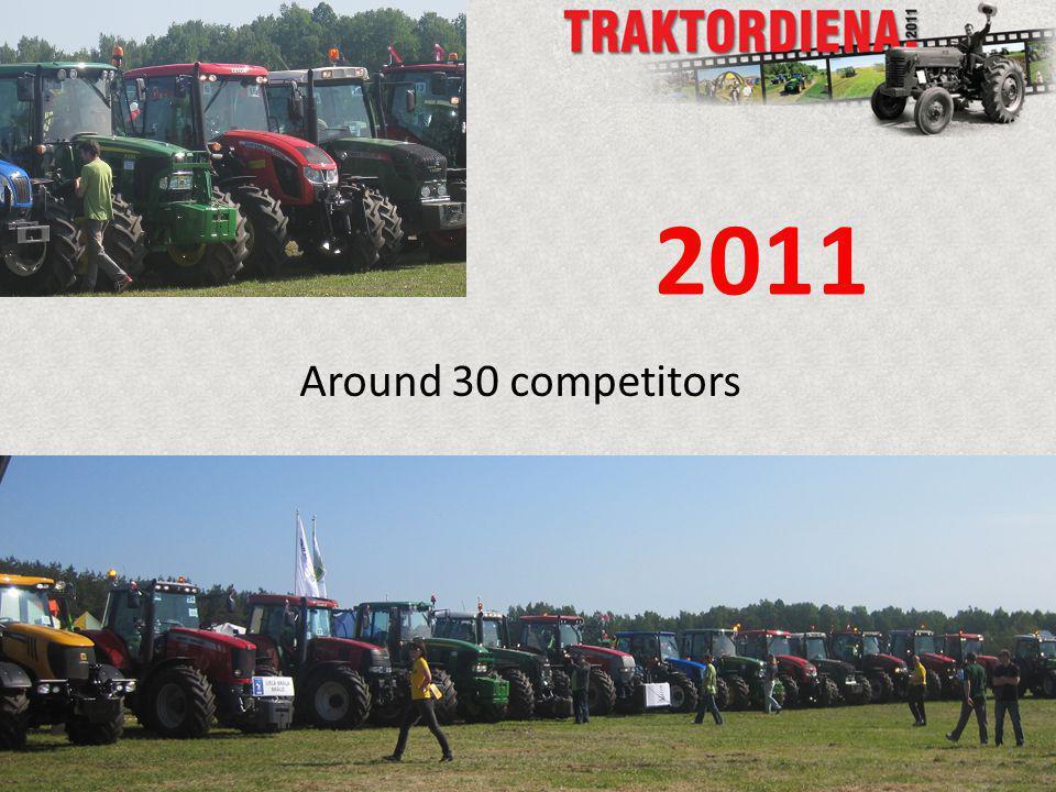 Around 30 competitors 2011