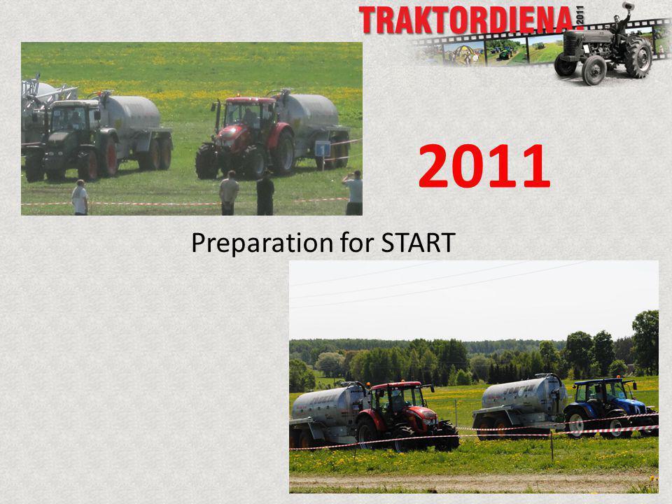 Preparation for START 2011