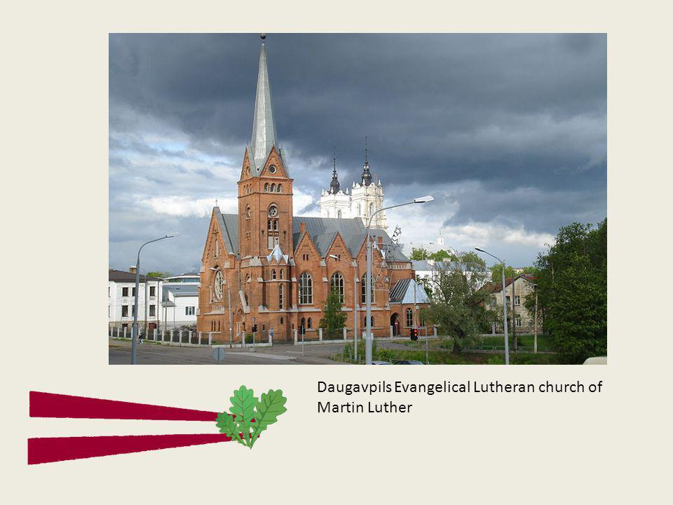 Daugavpils Evangelical Lutheran church of Martin Luther
