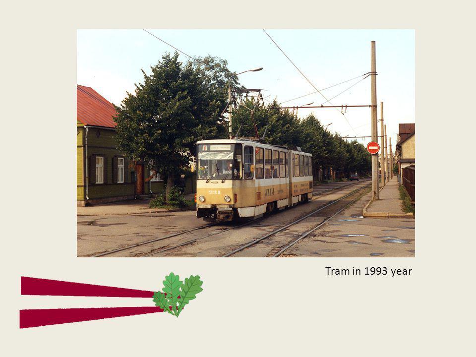 Tram in 1993 year