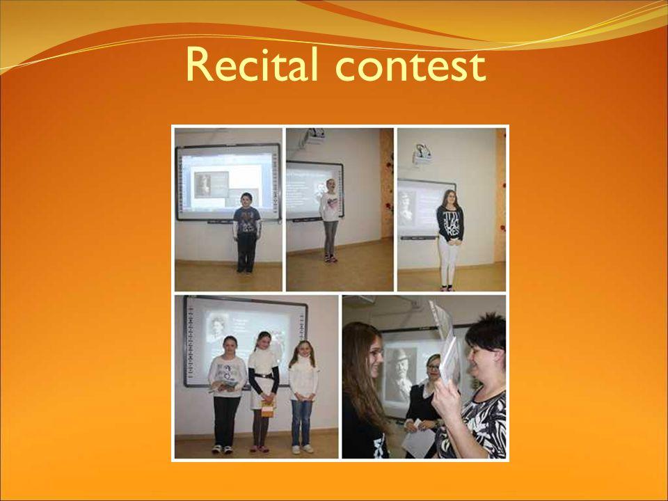 Recital contest