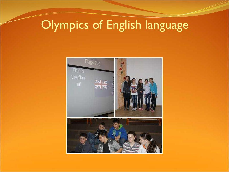 Olympics of English language