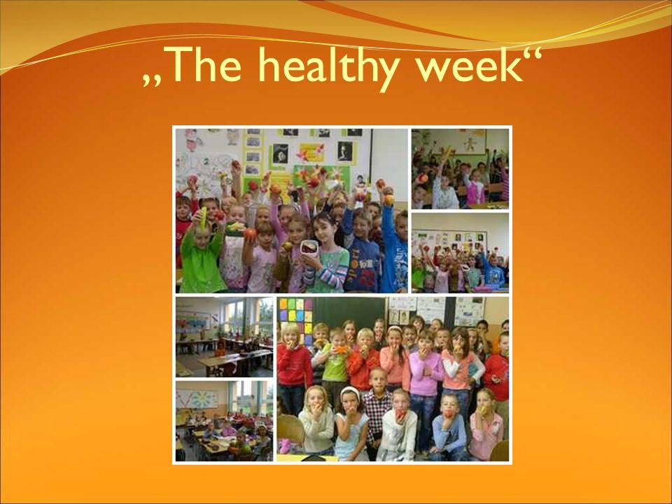 The healthy week