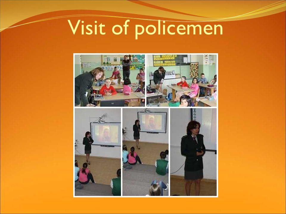 Visit of policemen