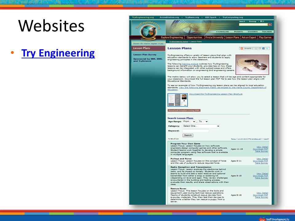 Try Engineering Websites
