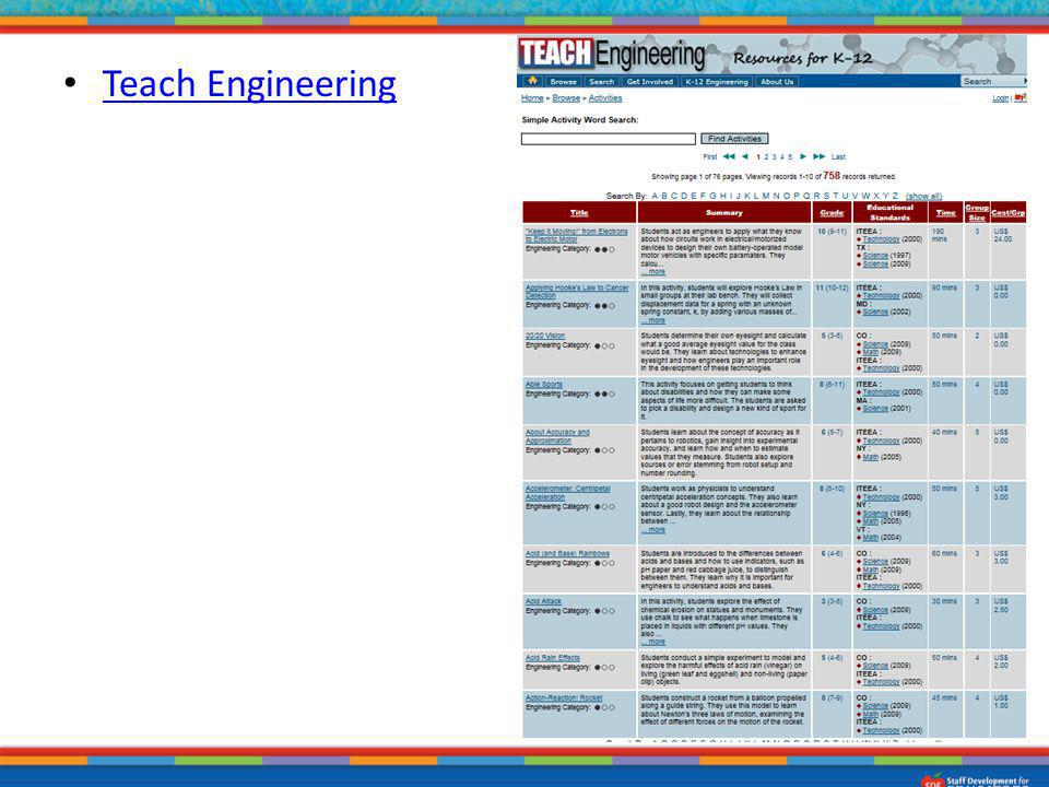 Teach Engineering