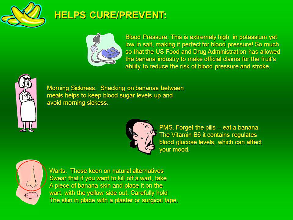 HELPS CURE/PREVENT: Warts.