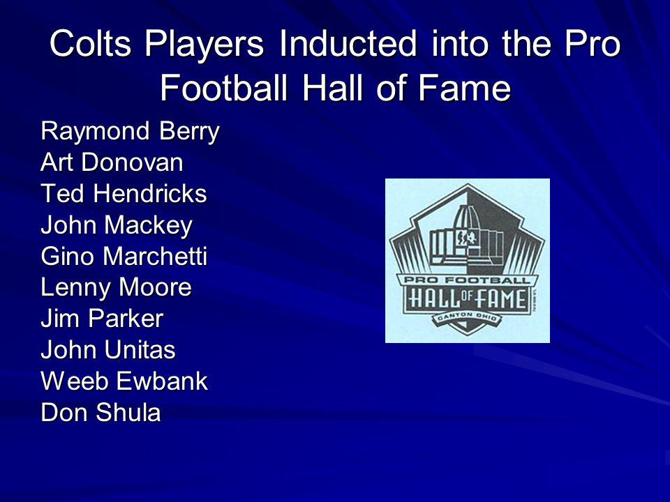 Current Defensive Starters Robert Mathis, LE Anthony McFarland, LT Raheem Brock, RT Dwight Freeney, RE Gilbert Gardner, LLB Gary Brackett, MLB Cato Ju