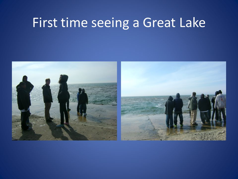 First time seeing a Great Lake