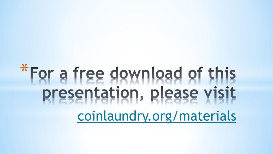 coinlaundry.org/materials