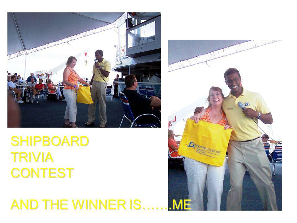SHIPBOARDTRIVIACONTEST AND THE WINNER IS…….ME