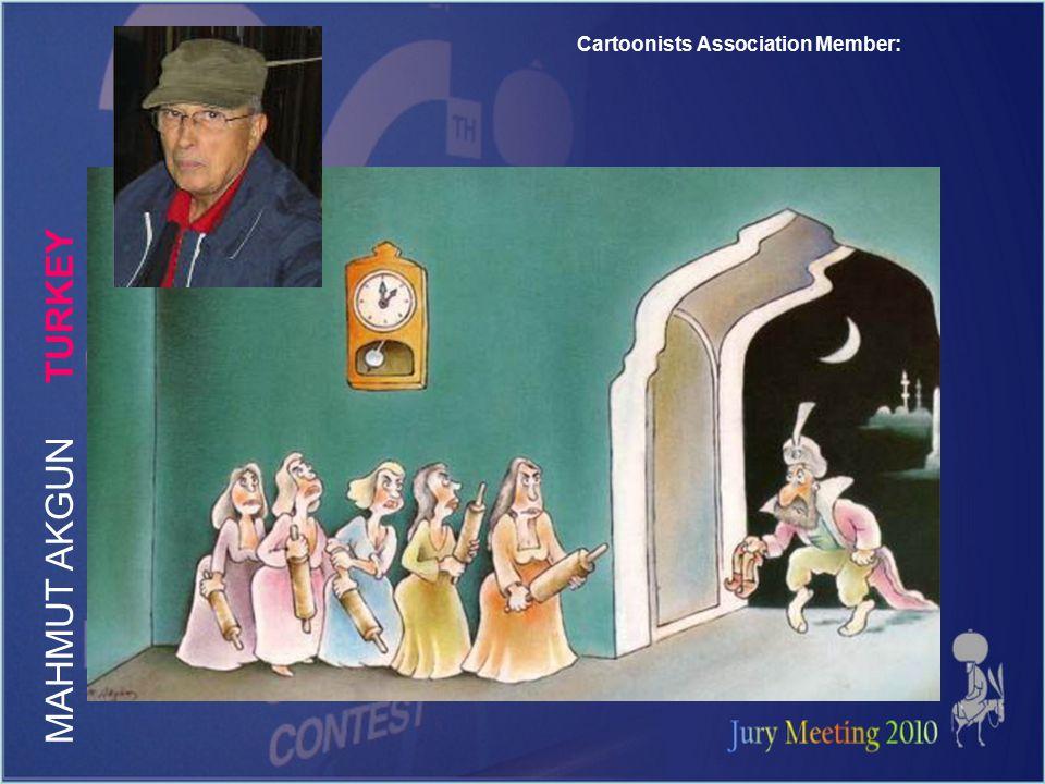 Cartoonists Association Member: M A H M U T A K G U N T U R K E Y