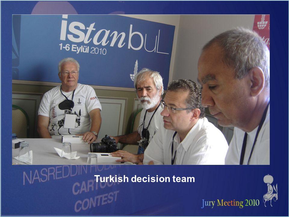 Turkish decision team