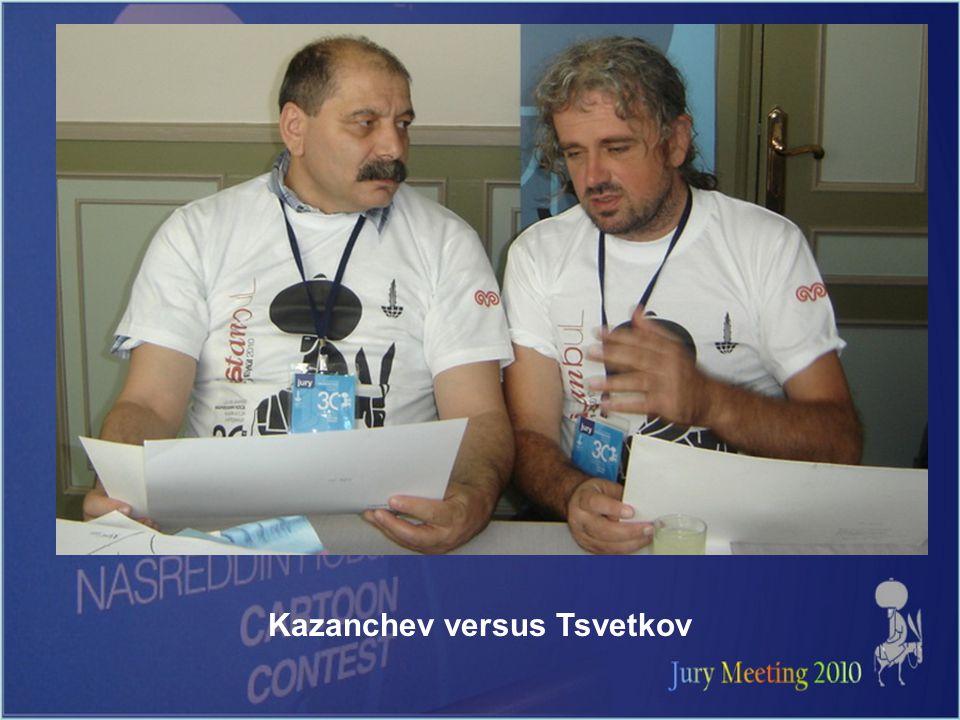 Kazanchev versus Tsvetkov