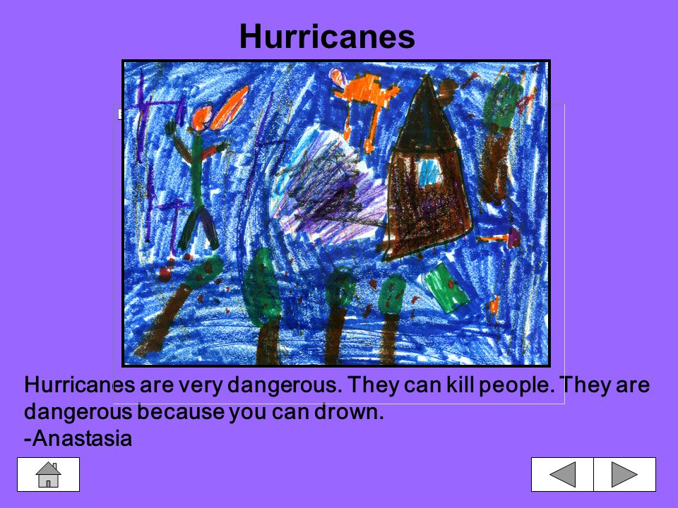 Dangerous Storms Hurricanes Thunderstorms Tornadoes Hurricanes Tornadoes