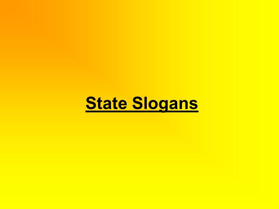 State Slogans