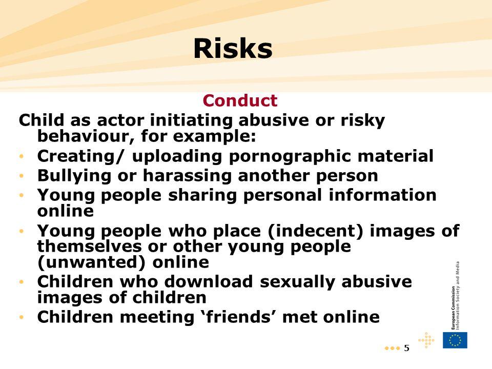 6 To deal with Risks 1- Legislative Framework 2- Law Enforcement (police) 3- Strategies, awareness, education