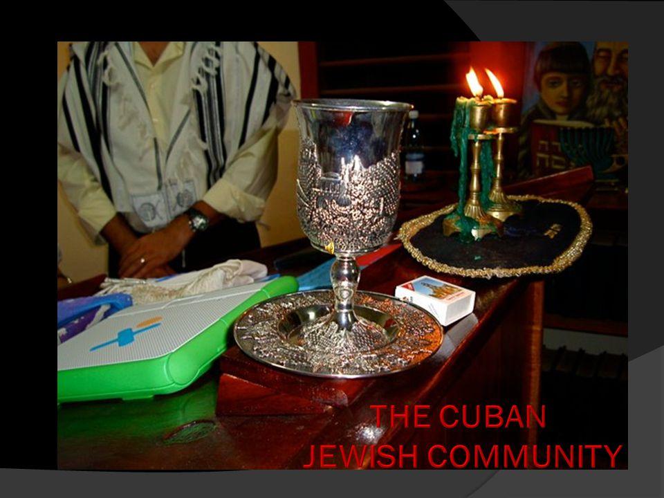 New Havdalah set brought to Camagüey from Jerusalem