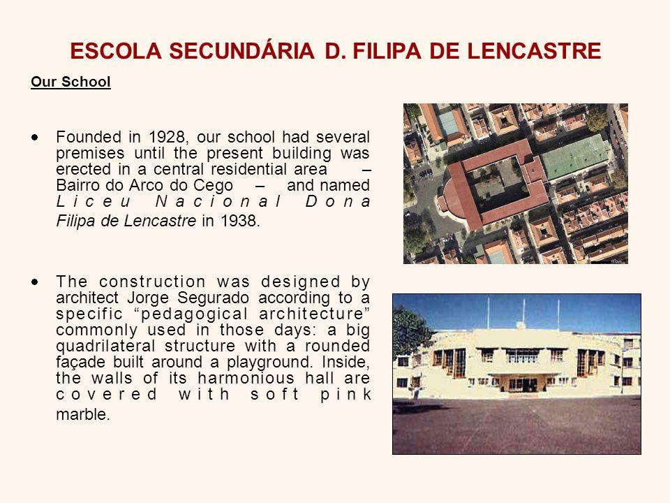 ESCOLA SECUNDÁRIA D.