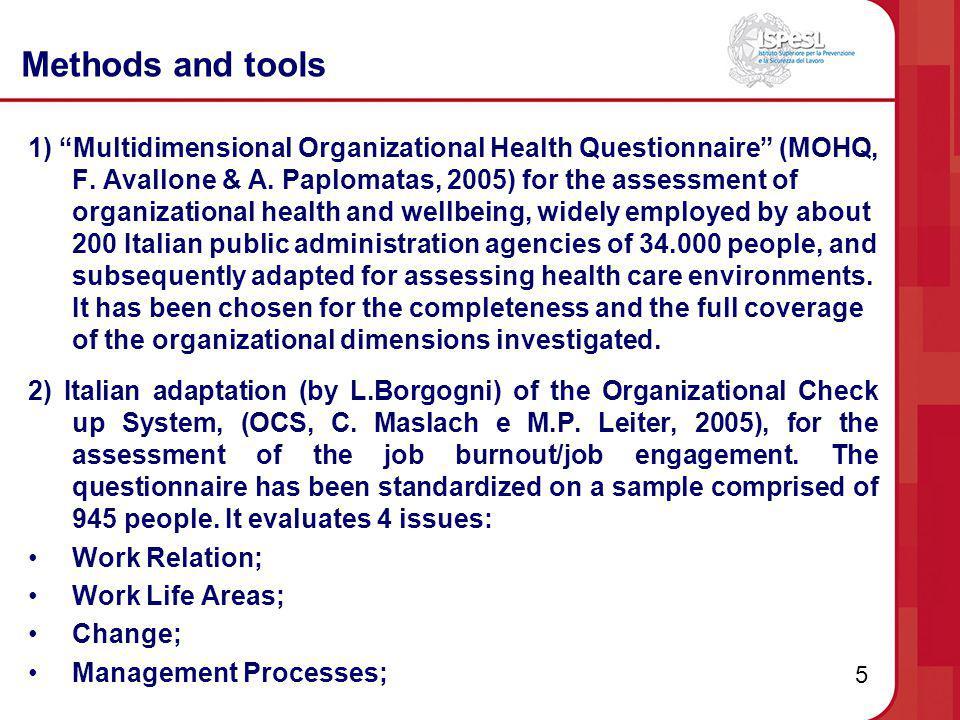 6 Methods and tools 3) Val.Mob (A.Aiello, P. Deitinger, C.