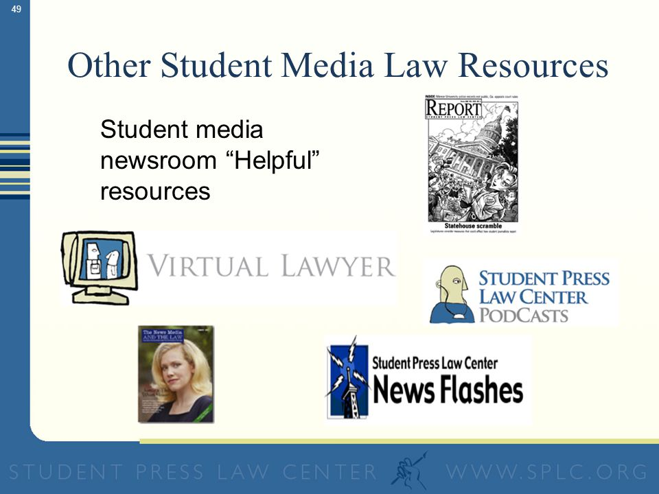 49 Other Student Media Law Resources Student media newsroom Helpful resources