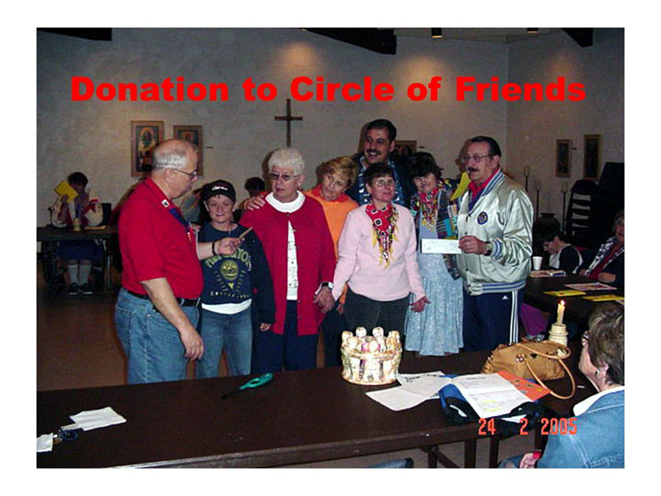 Donation to Circle of Friends