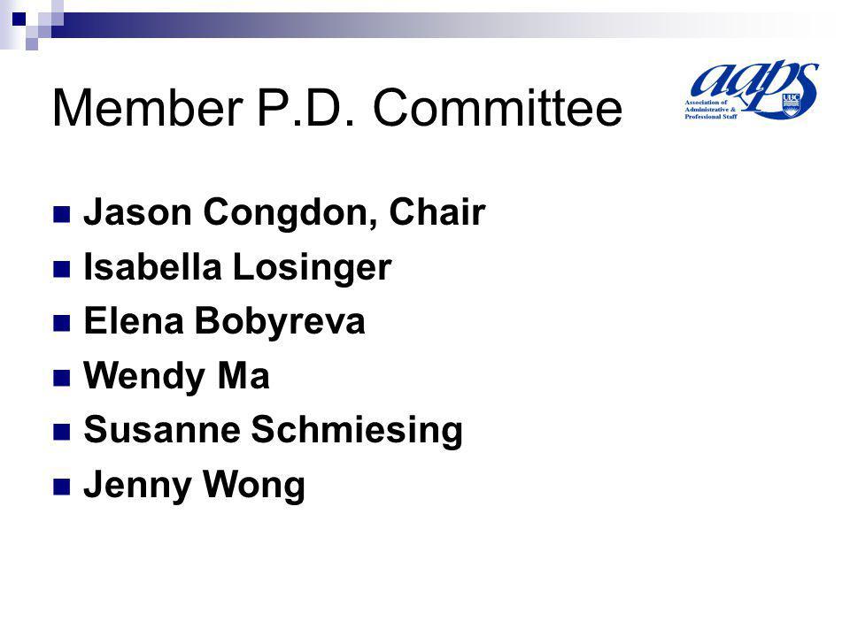 Member P.D.