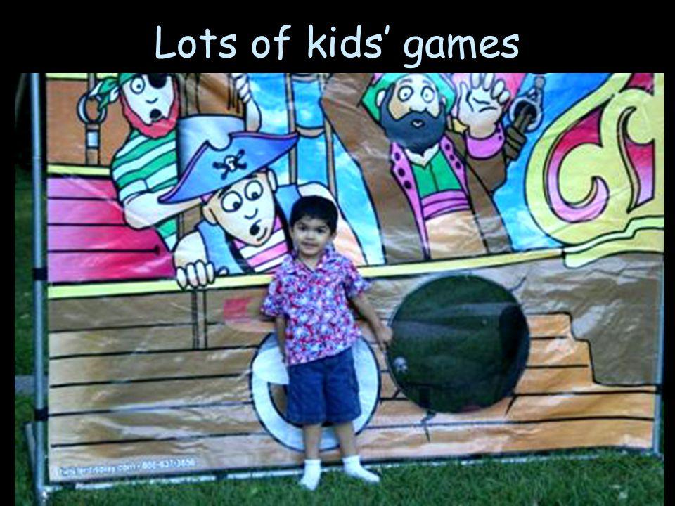 Lots of kids games