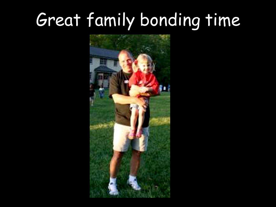 Great family bonding time