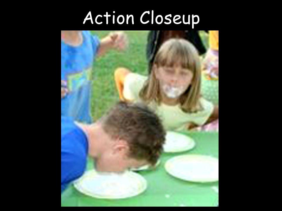 Action Closeup