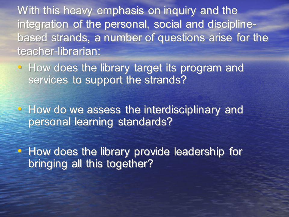 The Zone of Intervention Model learners encounter alternative perspectives and conflicting ideas so that they are able to transform prior knowledge and experience into deep understandings; learners take ownership and responsibility for their ongoing learning and mastery of essential content and skills; and learners contribute to social well being, the growth of democracy, and the development of a knowledgeable society.