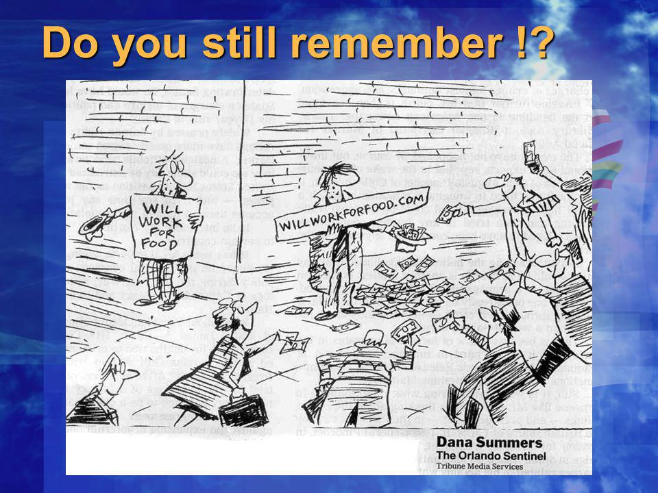 Do you still remember !?
