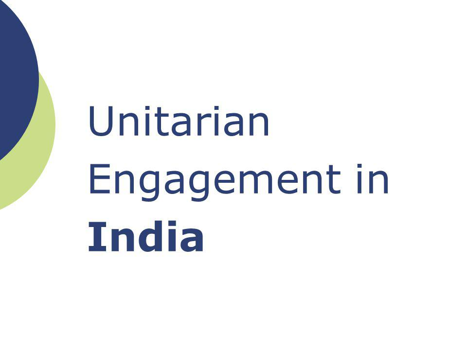 Unitarian Engagement in India