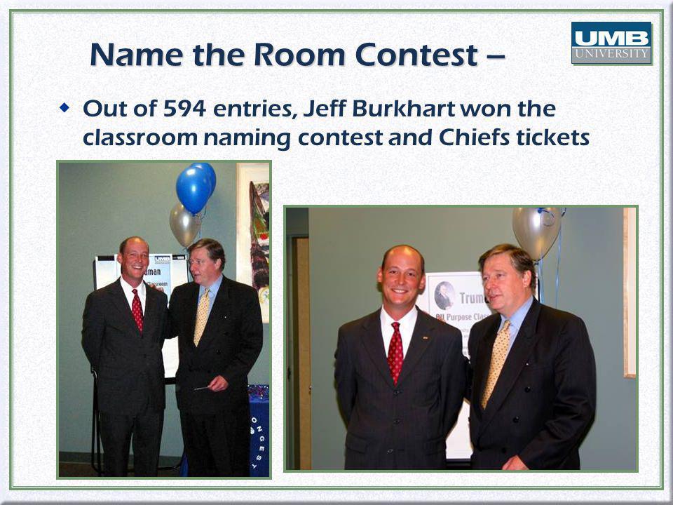 Winning Classroom Names wTruman wDisney wBenton wTruman wDisney wBenton