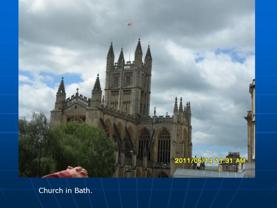 Church in Bath.