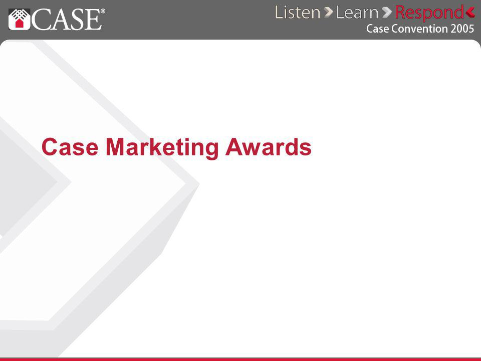 Case Marketing Awards