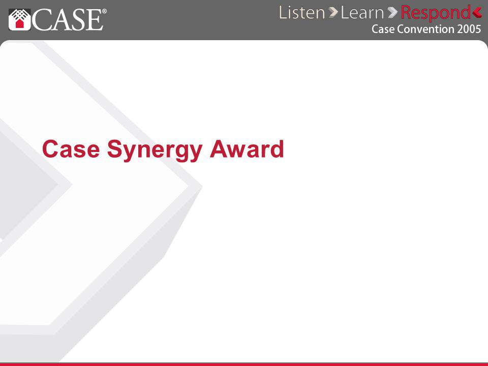 Case Synergy Award