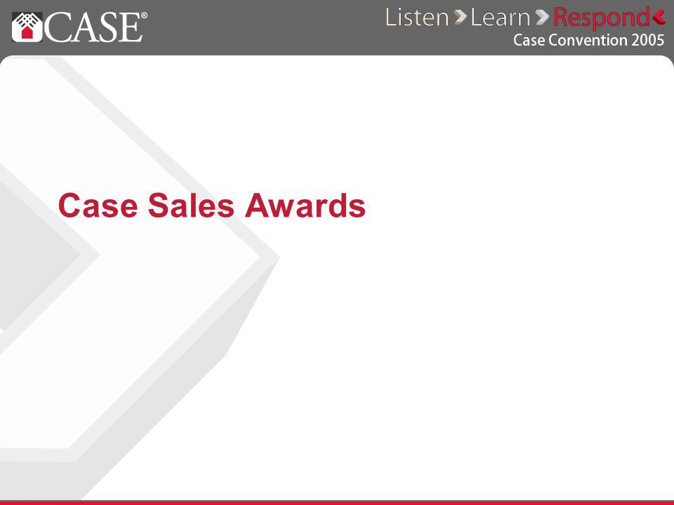 Case Sales Awards