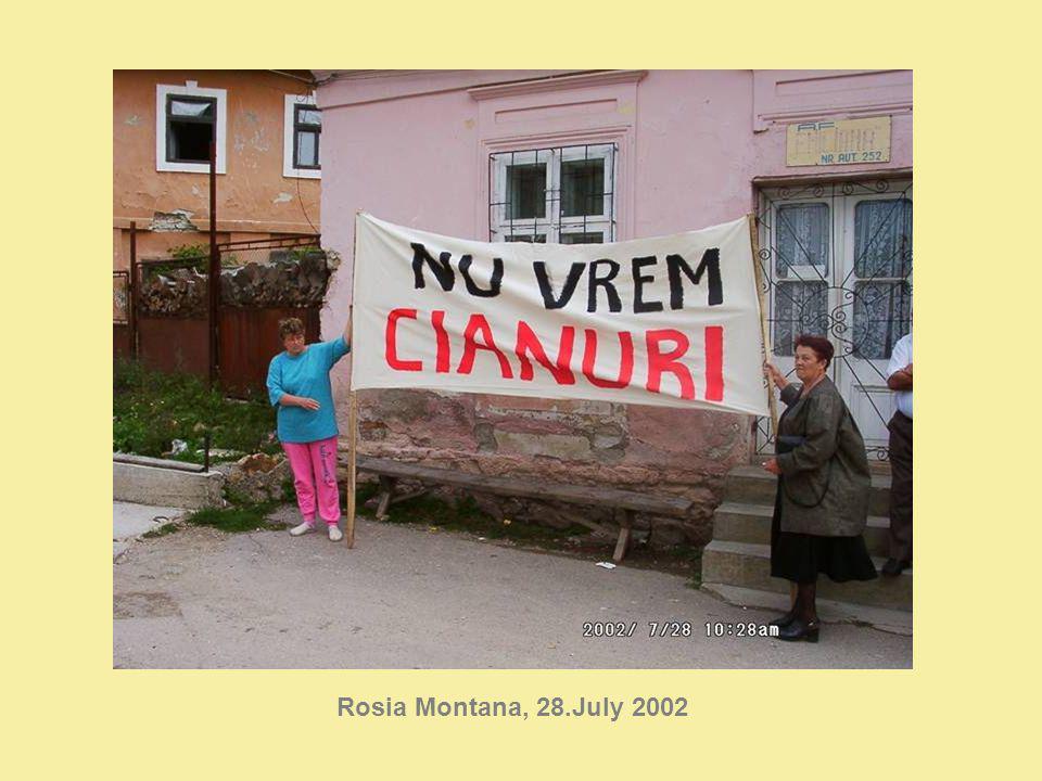 Rosia Montana, 28.July 2002