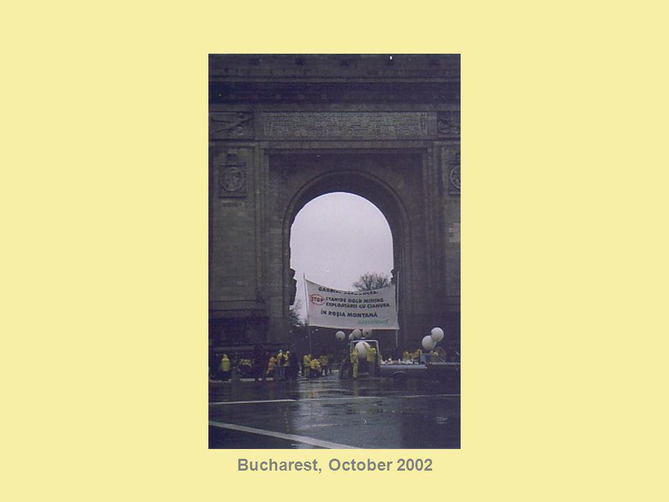 Bucharest, October 2002