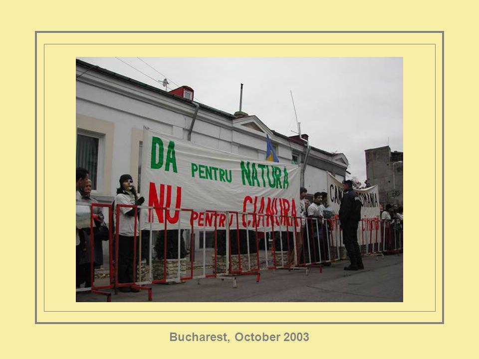 Bucharest, October 2003