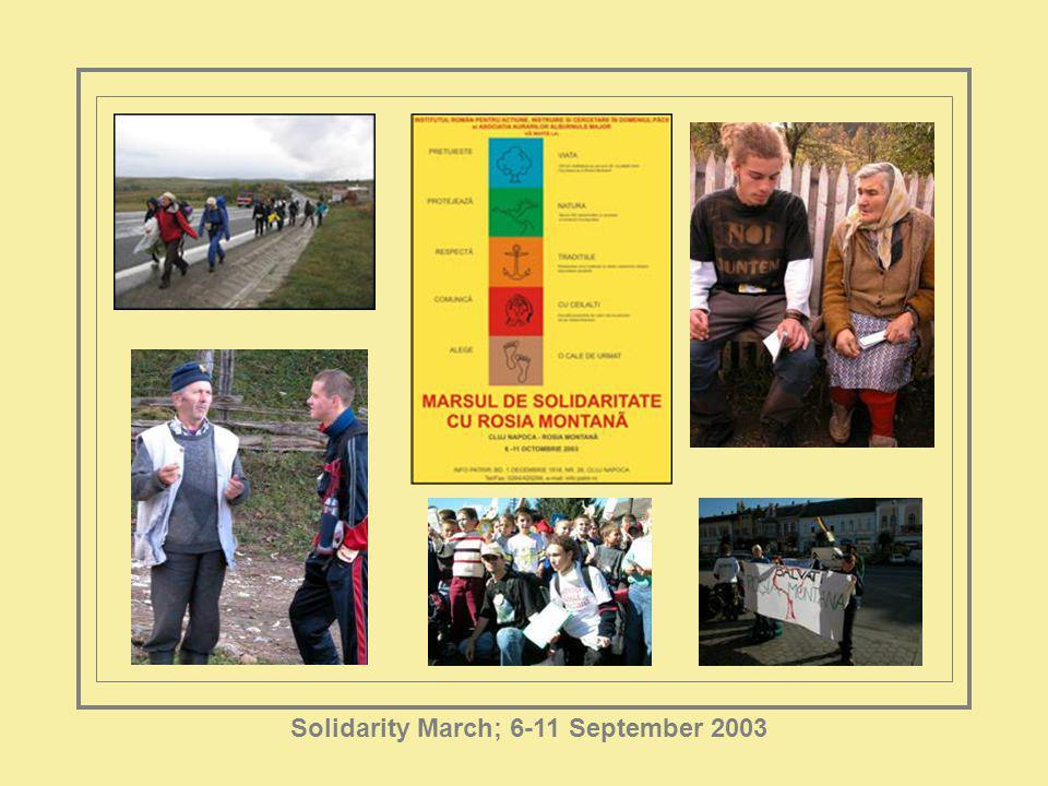 Solidarity March; 6-11 September 2003