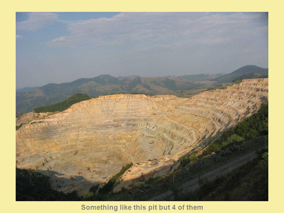 This is how a tailings pond looks like