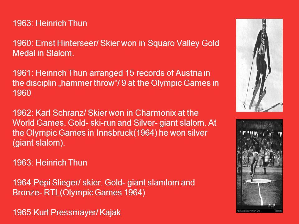 1966:Emmerich Danzer/ figure skater.