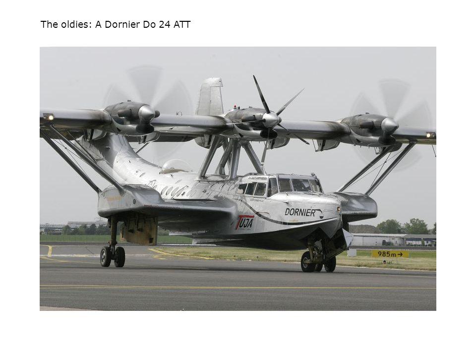The oldies: A Dornier Do 24 ATT