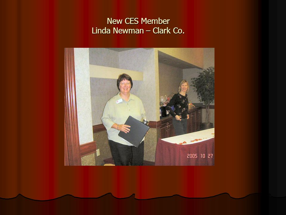New CES Member Linda Newman – Clark Co.