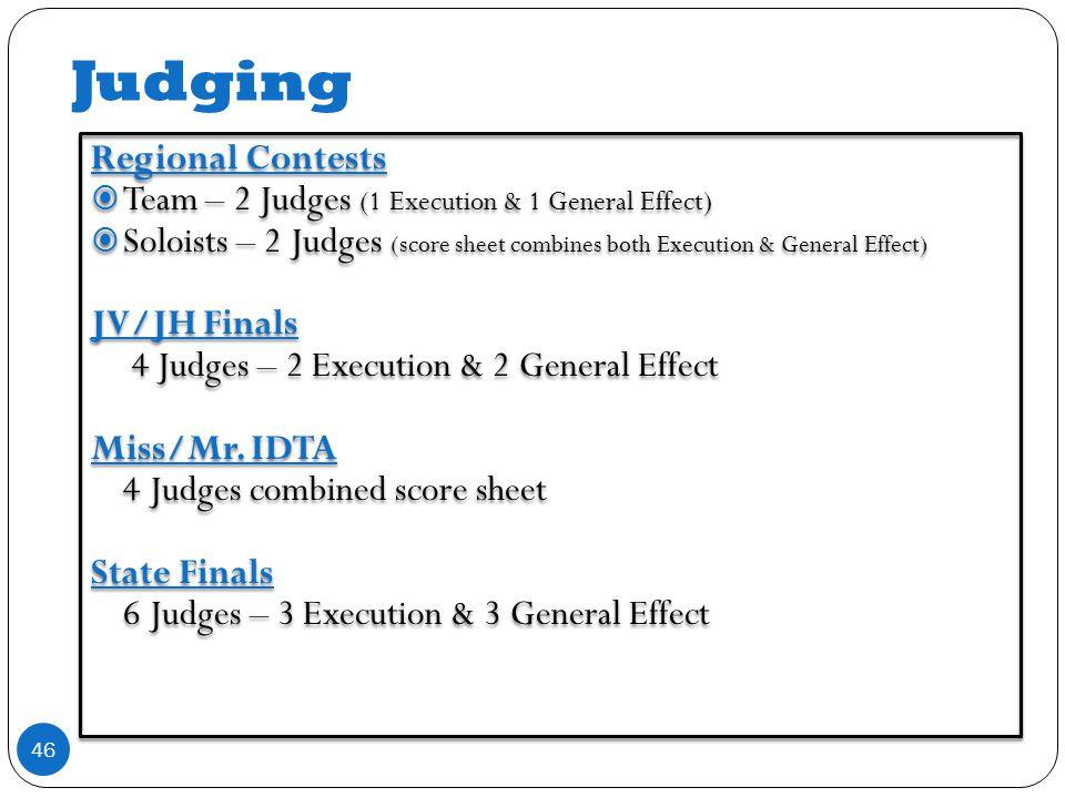 Judging 46