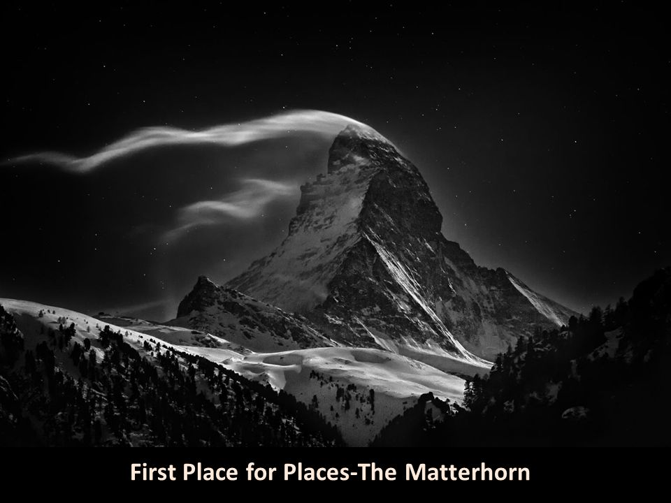 First Place for Places-The Matterhorn