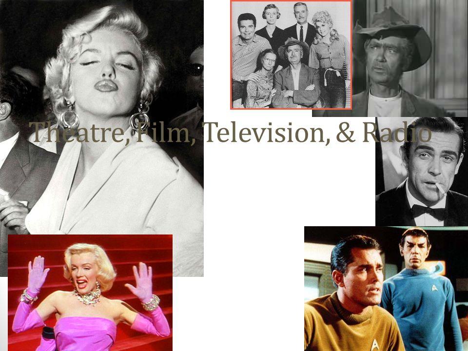 Theatre, Film, Television, & Radio