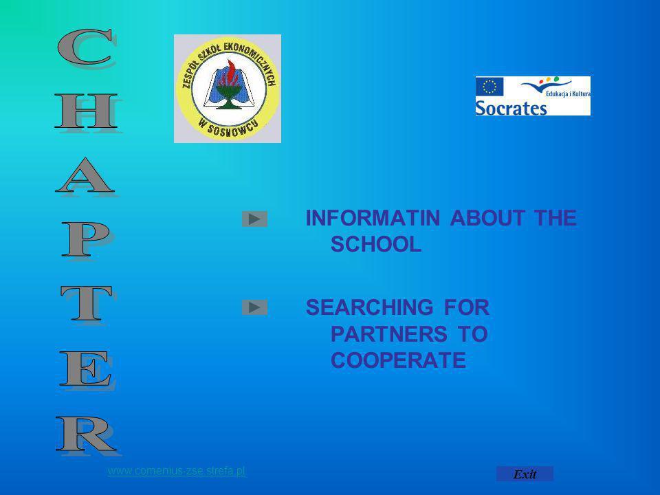 History of the Secondary School of Economics THE SECONDARY SCHOOL OF ECONOMICS IN SOSNOWIEC AT 66 GEN.